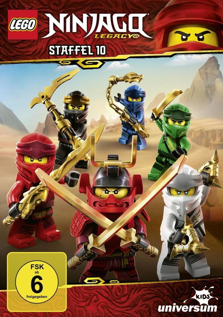 LEGO Ninjago Staffel 10 als DVD