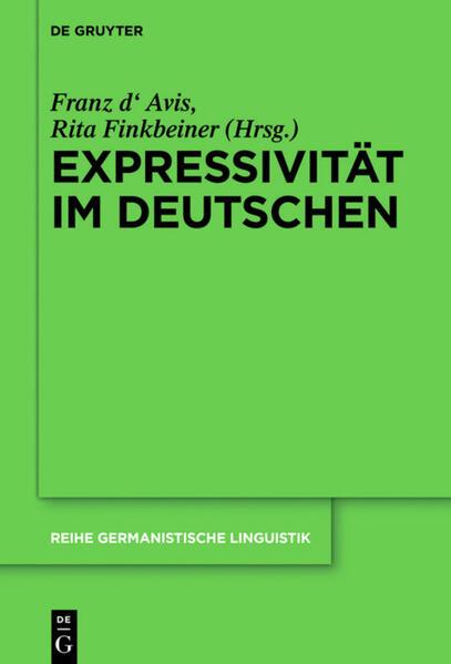 Expressivität im Deutschen als Buch