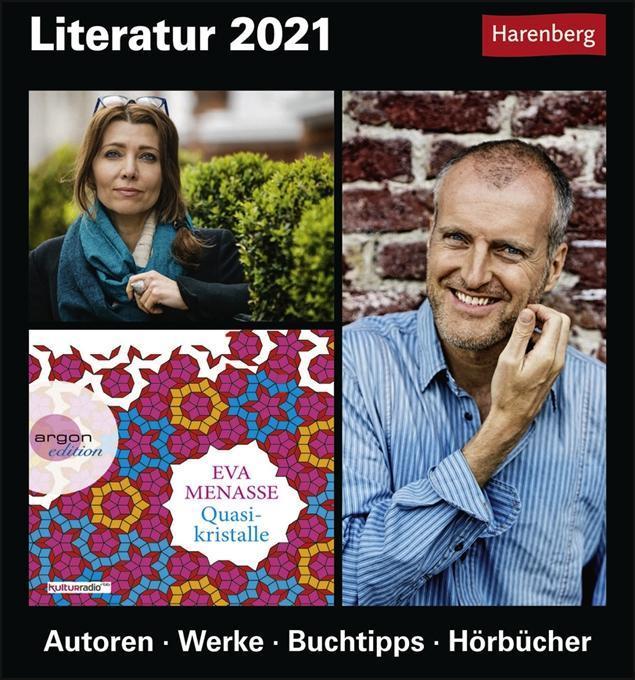 Literatur 2020 als Kalender