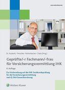 Geprüfte/-r Fachmann/-frau für Versicherungsvermittlung IHK
