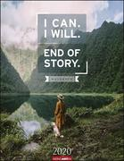 I Can. I Will. End of Story. - Kalender 2020