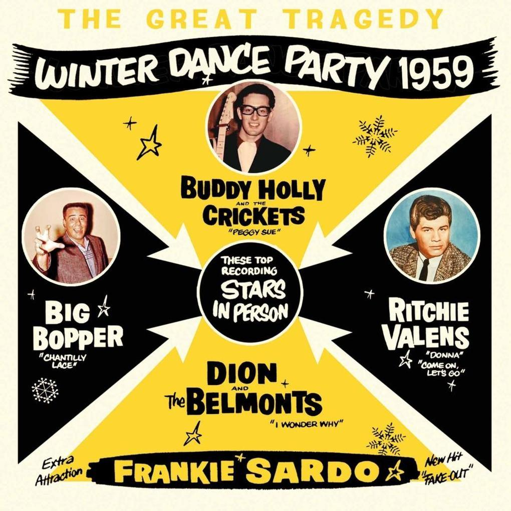 The Great Tragedy - Winter Dance Party 1959 als CD