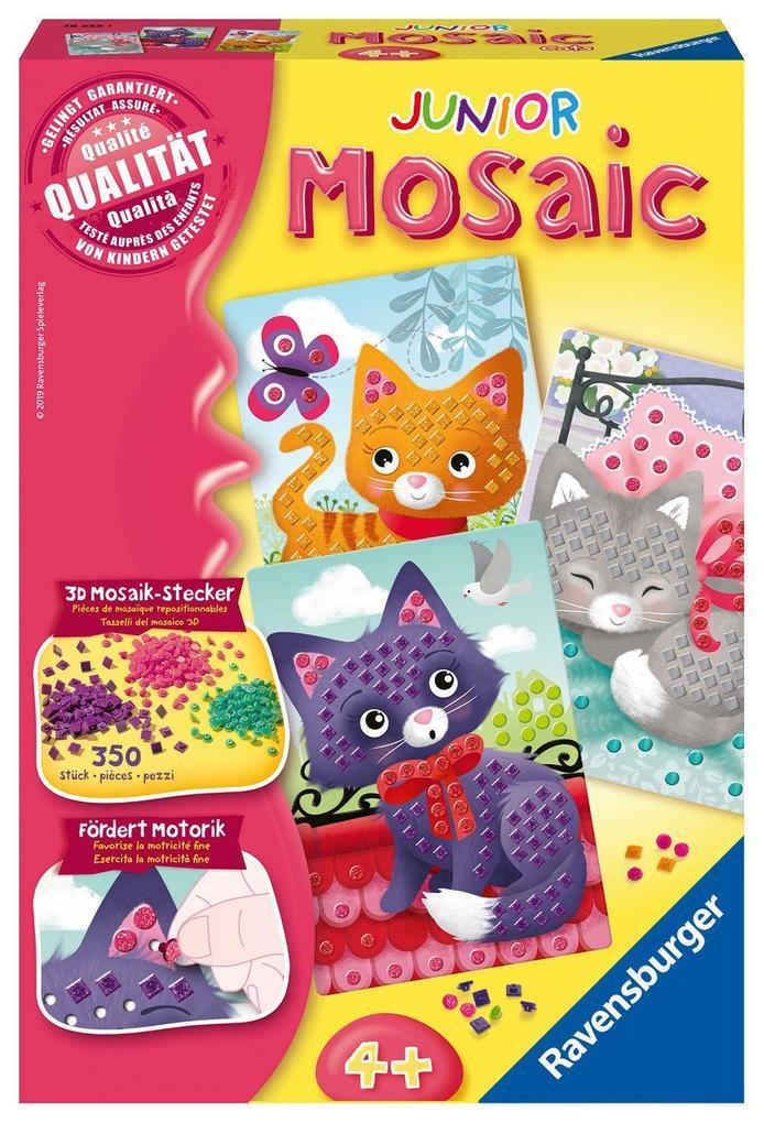 Cats Basteln Spiel Deutsch 2019 Kreativsets für Kinder Mosaic Junior Sonstige Kreativsets für Kinder