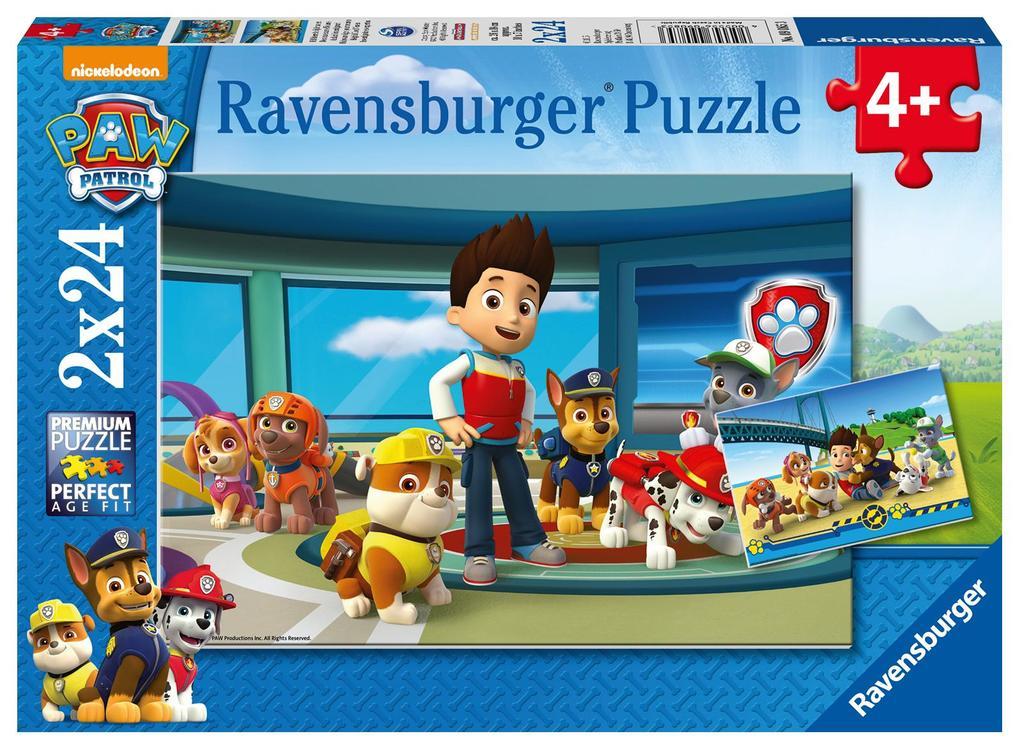 Ravensburger Puzzle - Paw Patrol, Hilfsbereite Spürnasen, 24 Teile als sonstige Artikel