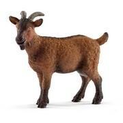 Schleich 13829 - Farm World, Ziege, Spielfigur, Tierfigur, Bauernhof