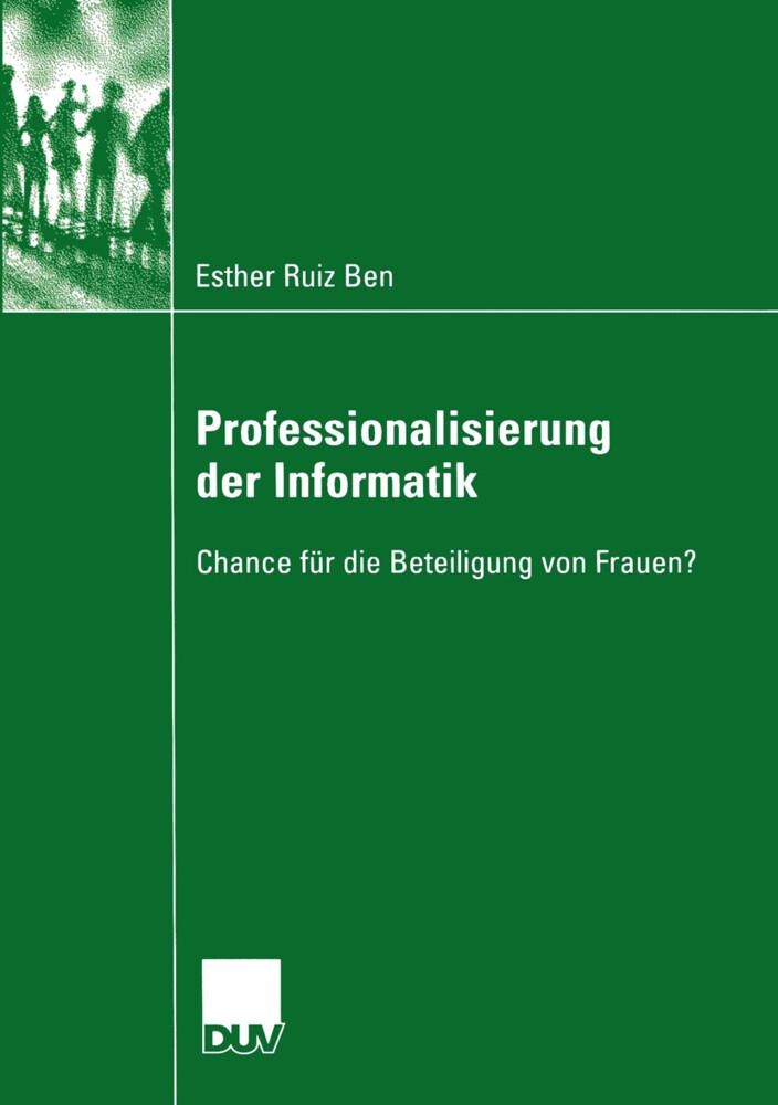 Professionalisierung der Informatik als Buch vo...