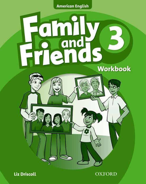 Family and Friends American Edition: 3: Workbook als Taschenbuch
