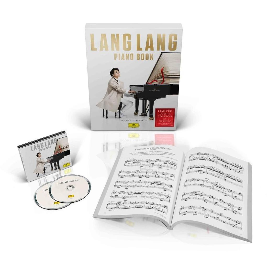 Piano Book (Score Edition) (Ltd. Edt.) als CD