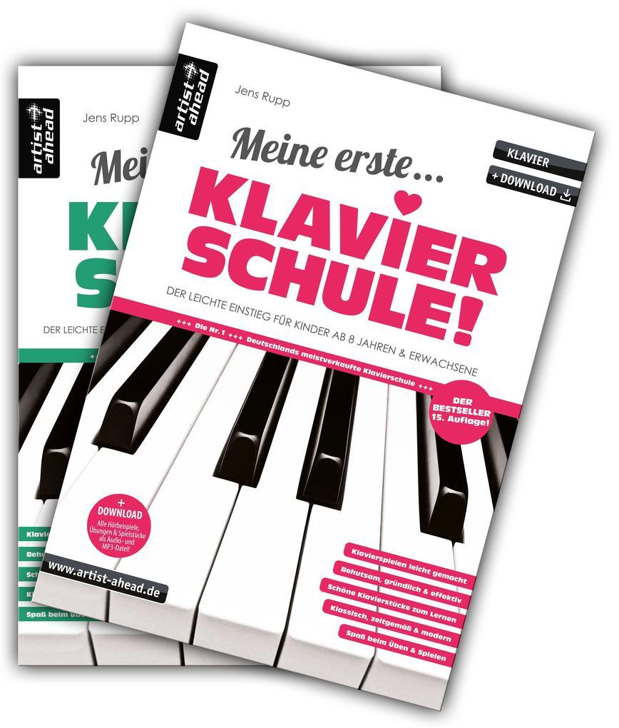 Meine erste Klavierschule & Meine zweite Klavierschule im Set! als Buch