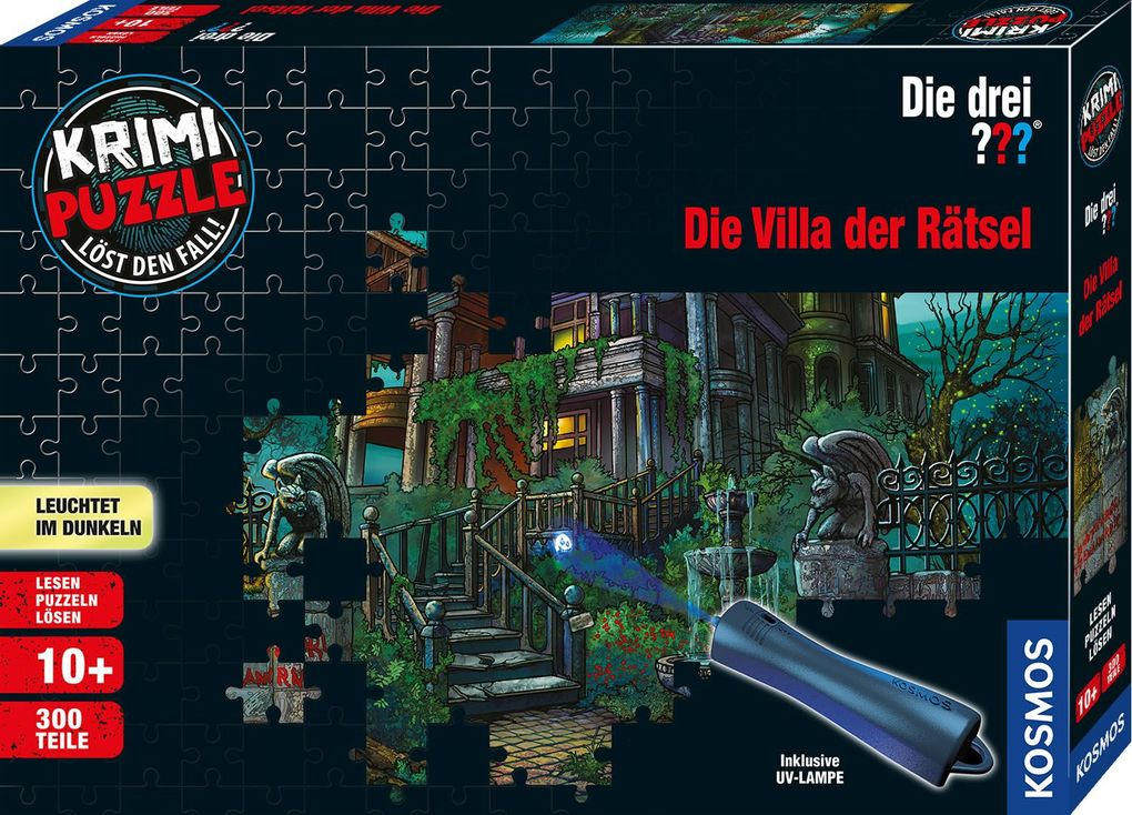 Krimipuzzle ??? 300 Teile / Die Villa der Rätsel (drei Fragezeichen) als sonstige Artikel