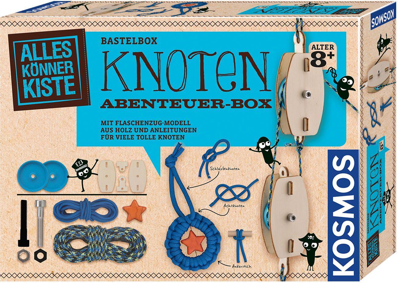 Knoten-Abenteuerbox von KOSMOS