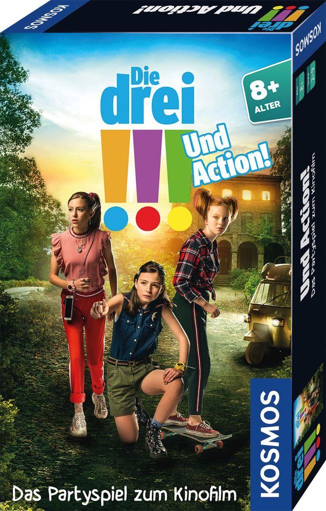 Die drei !!! Und Action! Mitbringspiel zum Film (drei Ausrufezeichen) als sonstige Artikel