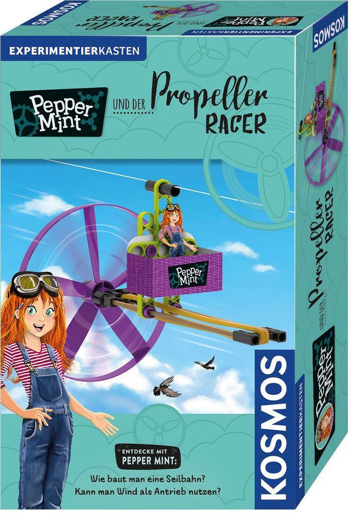 Image of KOSMOS 606091 - Pepper Mint und der Propeller Racer, Seilbahn, Windenergie