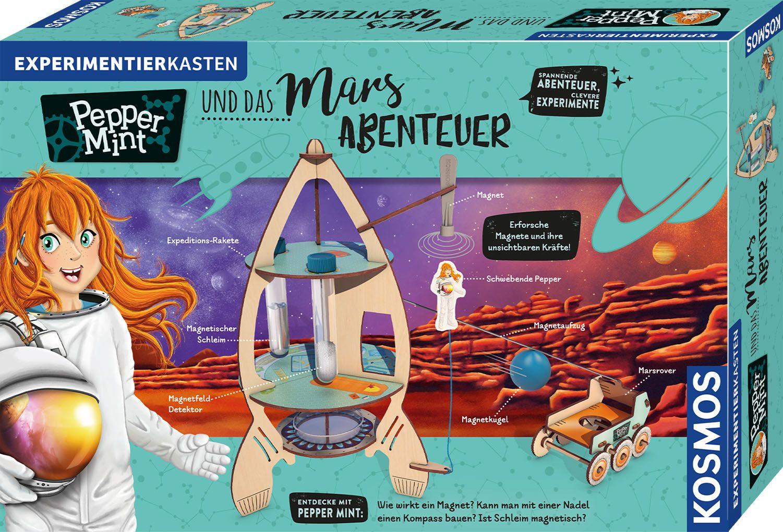 Image of KOSMOS 606077 Pepper Mint und das Mars-Abenteuer Experimentierkasten, Mehrfarbig
