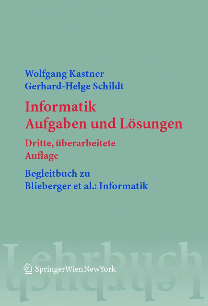 Informatik als Buch von Gerhard-Helge Schildt, ...