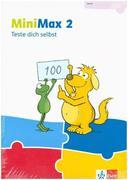 MiniMax 2. Schülerpaket (5 Hefte: Zahlen und Rechnen A, Zahlen und Rechnen B, Größen und Sachrechnen, Geometrie, Teste-dich-selbst, Beilage) - Verbrauchsmaterial Klasse 2
