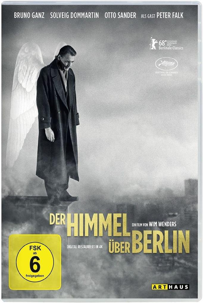 Der Himmel über Berlin. Digital Remastered als DVD