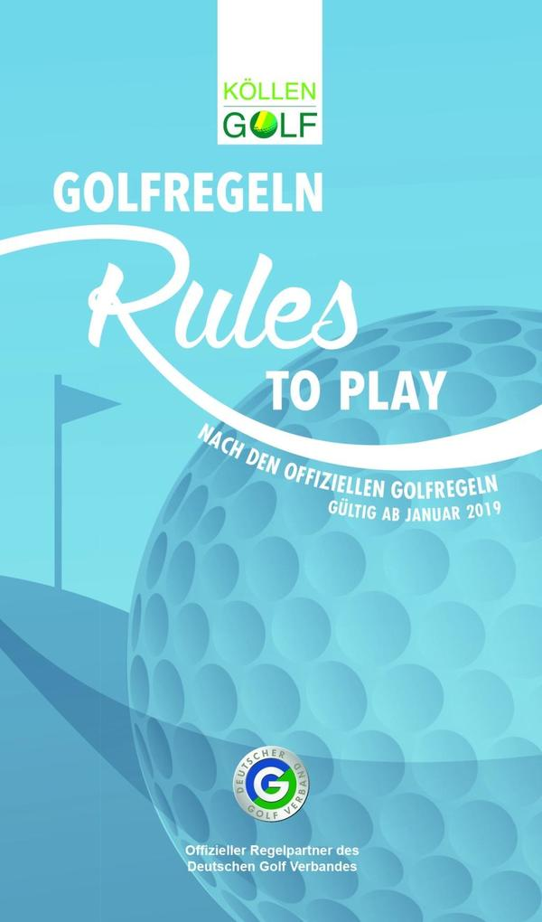 Golfregeln - Rules to play als Buch
