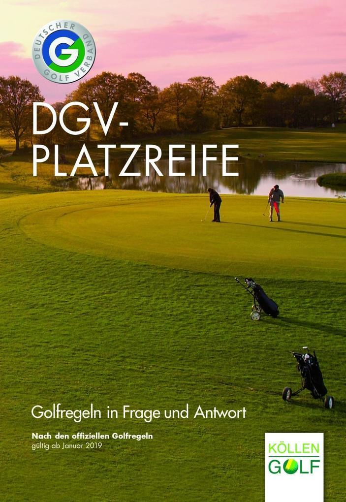DGV-Platzreife als Buch