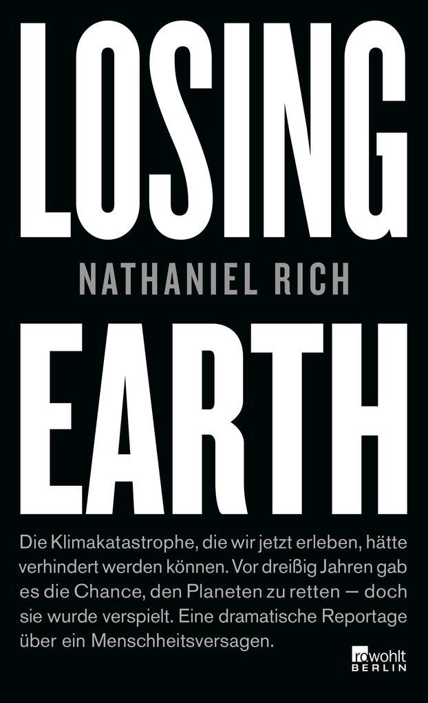 Losing Earth als Buch