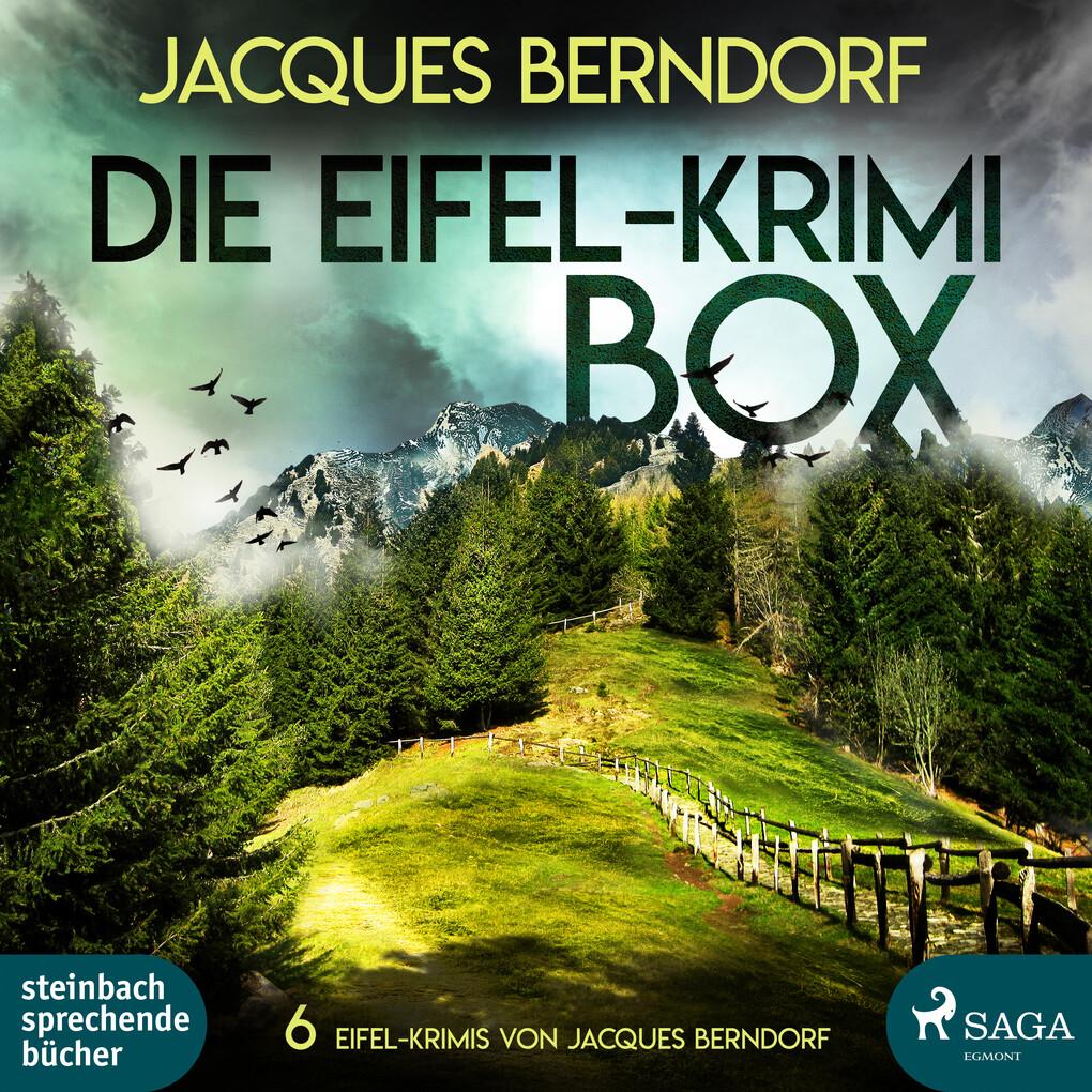 Die Eifel-Krimi-Box - 6 Eifel-Krimis von Jacques Berndorf (Ungekürzt) als Hörbuch Download