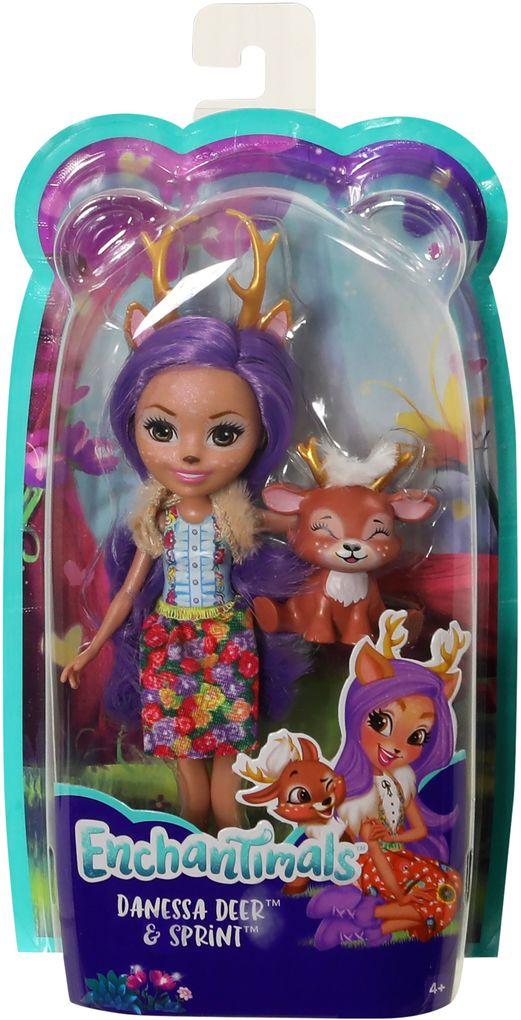 110499446b0 Mattel - Enchantimals Danessa Deer und Sprint als sonstige Artikel