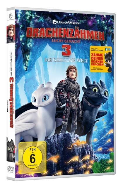 Drachenzähmen leicht gemacht 3: Die geheime Welt als DVD