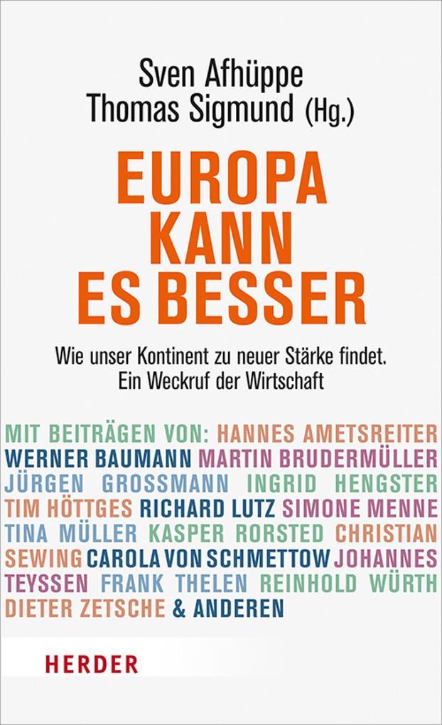 Europa kann es besser als eBook