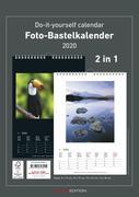 Foto-Bastelkalender 2020 s/w datiert