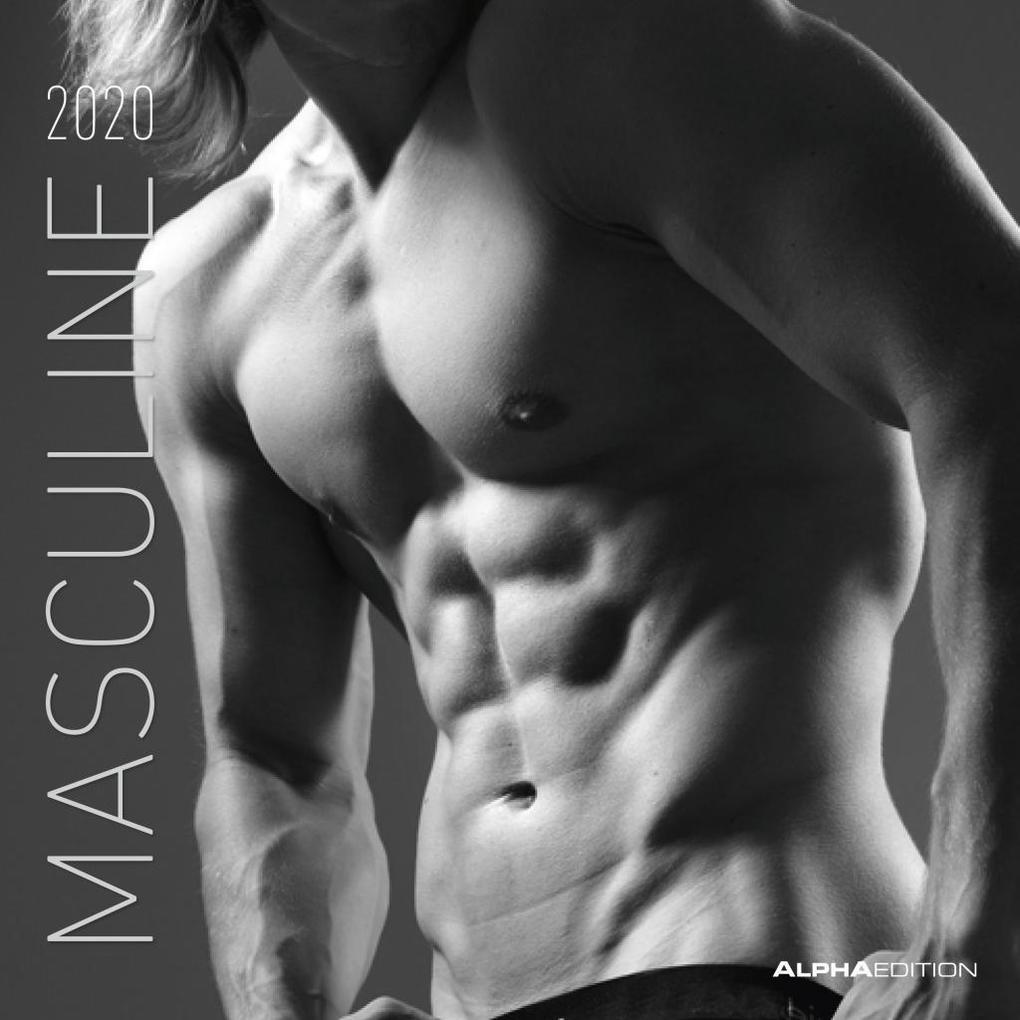 Masculine 2020 - Broschürenkalender als Kalender