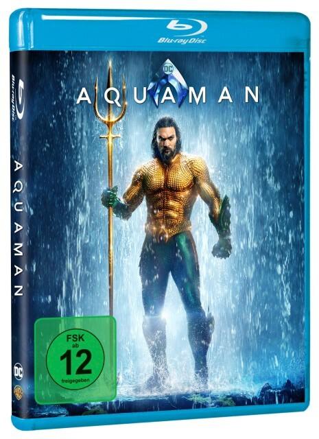 Aquaman als DVD