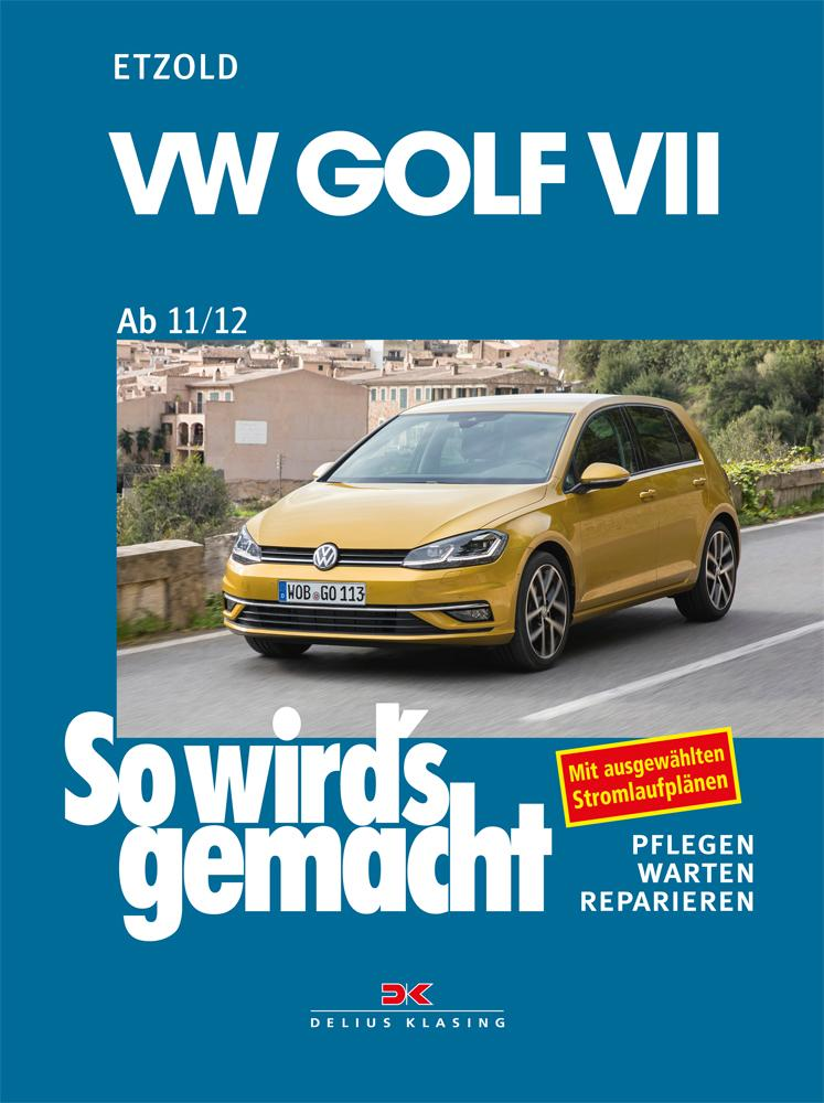 VW Golf VII ab 11/12 als Buch