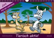 Tierisch aktiv (Wandkalender 2020 DIN A4 quer)