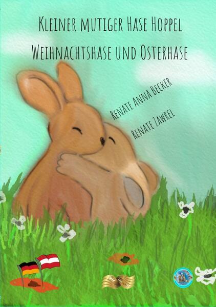 Kleiner mutiger Hase Hoppel, Weihnachtshase und Osterhase als Buch (kartoniert)
