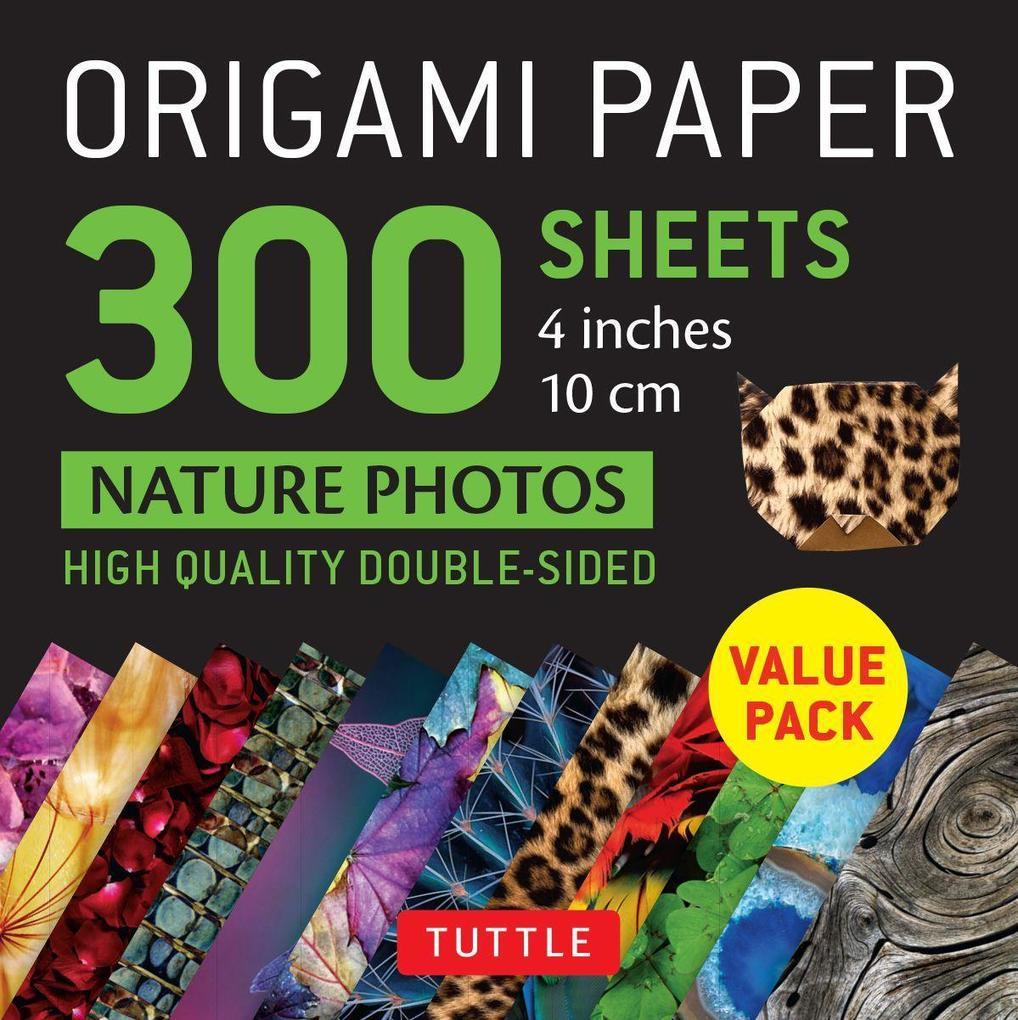 Origami Paper 300 sheets Nature Photo Patterns 4 inch (10 cm) als Sonstiger Artikel
