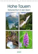 Hohe Tauern - Naturreichtum in den Alpen (Wandkalender 2020 DIN A4 hoch)
