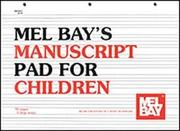 Manuscript Pad for Children