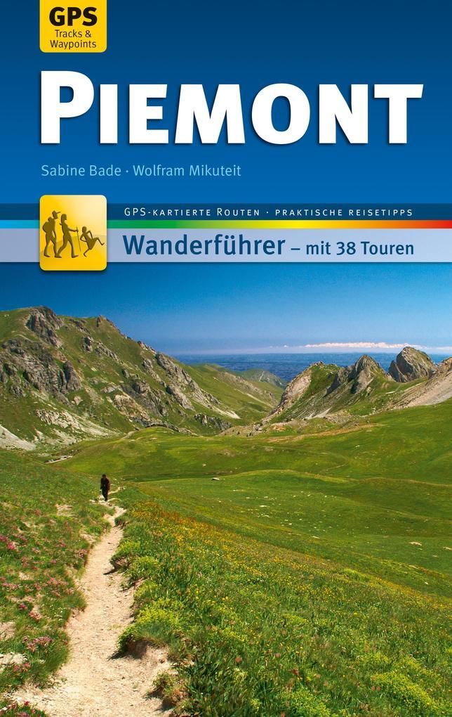 Piemont Wanderführer Michael Müller Verlag als eBook epub