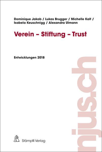 Verein - Stiftung - Trust als Buch