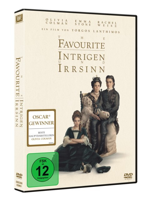 The Favourite als DVD