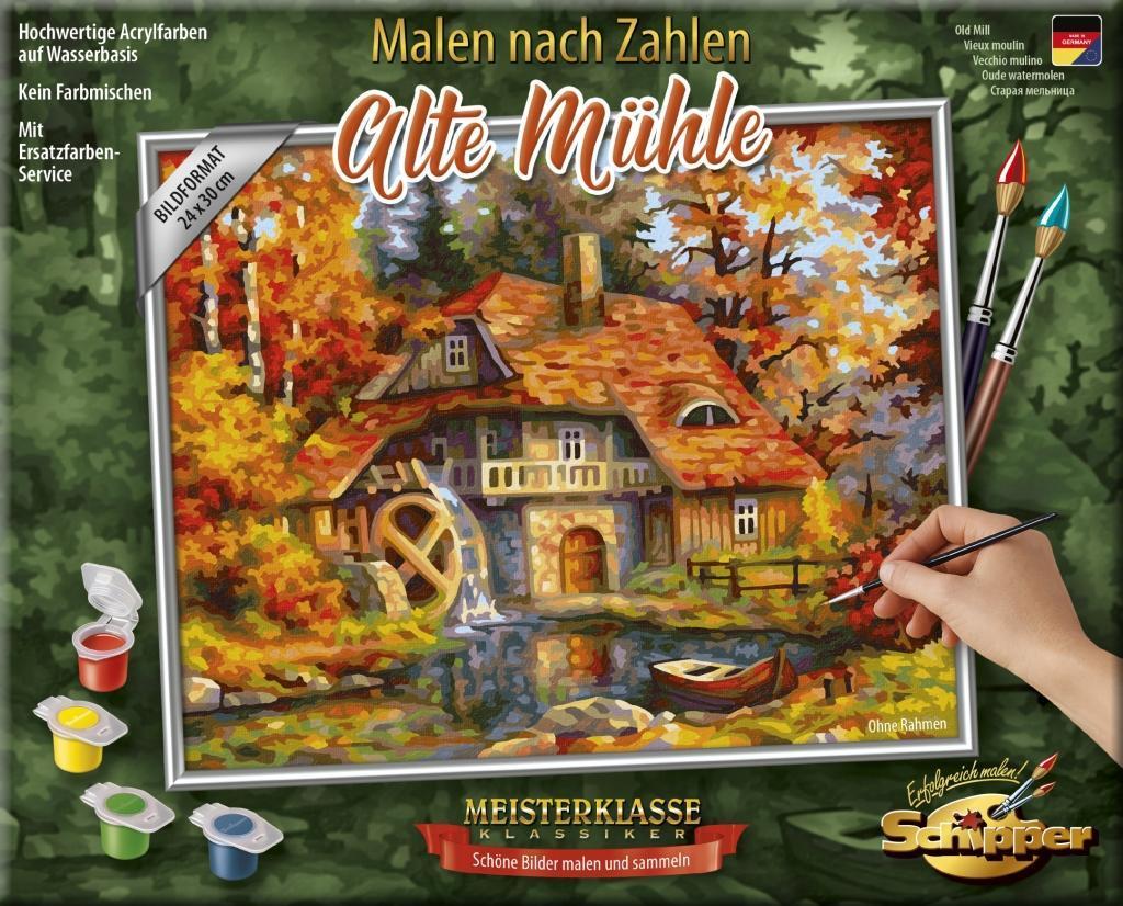 Schipper Malen Nach Zahlen Alte Mühle