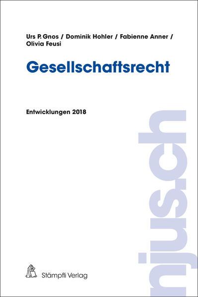 Gesellschaftsrecht als Buch