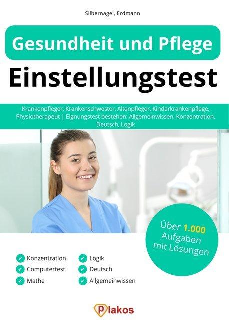 Gesundheit und Pflege Einstellungstest als Buch (kartoniert)