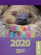 Wie faul ist das Faultier? 2020
