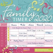 Family Timer - Floral 2020