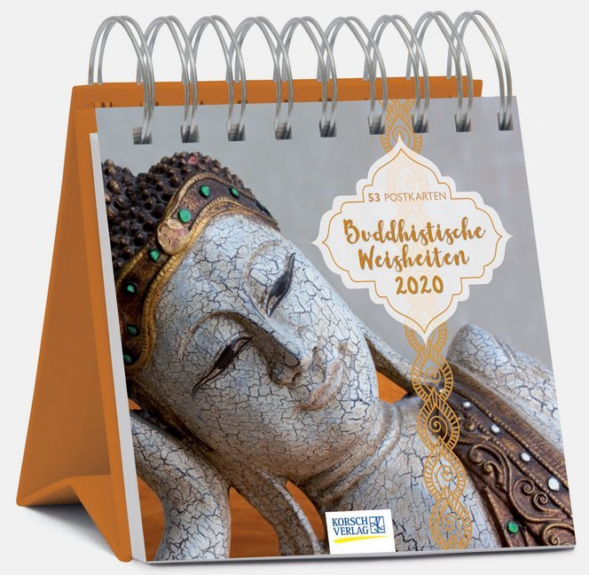 Buddhistische Weisheiten 2020 als Kalender