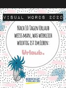 Visual Words 2020