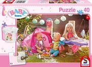 Schmidt Spiele - Puzzle - Komm wir zelten! 40 Teile