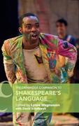 The Cambridge Companion to Shakespeare's Language