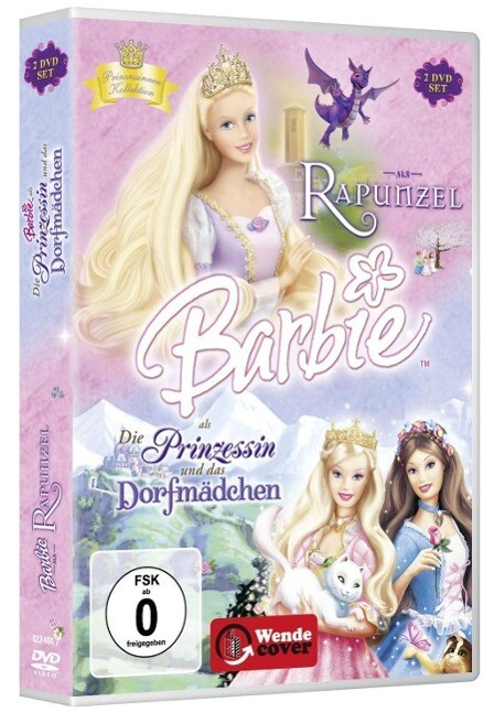 Barbie Als Rapunzel Die Prinzessin Und Das Dorfmädchen